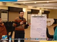 Ihtesham-Khan-of-Express-Tribune-presenting-group-presentation-on-Risk-Assessment.