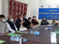 A-Journalist-asking-a-question-regarding-the-budget-making-process-during-the-media-briefing-on-the-state-of-budget-transparency-report-in-district-Swat