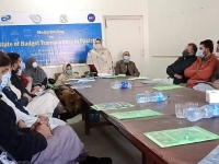 Yasmeen-Gul-Director-responding-to-the-question-regarding-stakeholders-engagement-in-the-budget-making-process