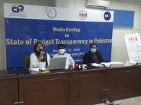 Bilquis-Rehman-ED-Council-for-Participatory-Development-CPD-Karachi-with-Tofique-Wassan-Provincial-Coordinator-–-Sindh-CPDI-addressing-the-Media-Briefing