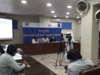 Tofique-Wassan-Provincial-Coordinator-–-Sindh-CPDI-Addressing-the-Media-Briefing
