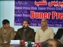 Press Conference on Charter of Demands on Budget Making and Implementation in Pakistan - Buner