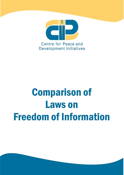 Comparsion of Laws of Freedom of Information(FOI)