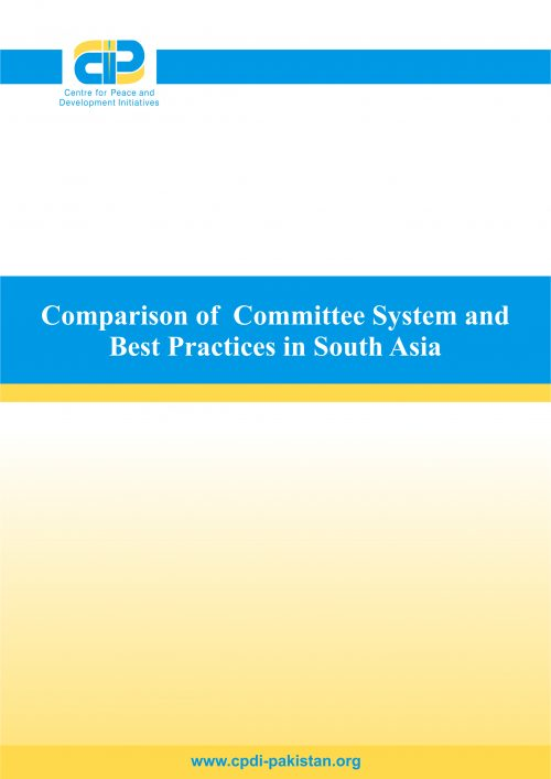 Comparison of Committee System and Best Practices in South Asia