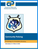 Community Policing: Proceedings of a Consultative Workshop