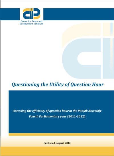 Questioning the Utility of Question Hour