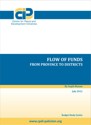 Flow of Funds from Province to Districts