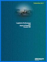 Parliamentary Alert II Performance of the Senate (November 2005)