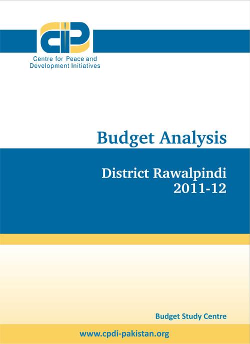 Budget Analysis(District Rawalpindi 2011-2012)