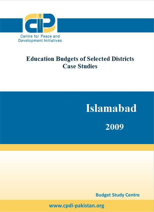 Education Budgets of Selected Districts (Case Studies)