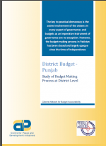 District Budget Punjab-Study of Budget Making Process at District Level