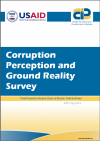 Corruption Perception and Ground Reality Survey