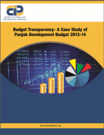 Budget Transparency-A Case Study of Punjab Development Budget 2013-2014