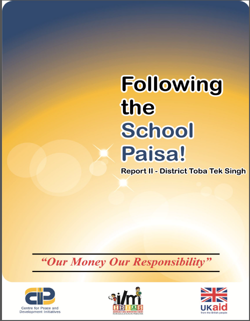 Following the School Paisa Report-2(District Toba Tek Singh)