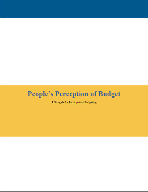 People's Perception of Budget