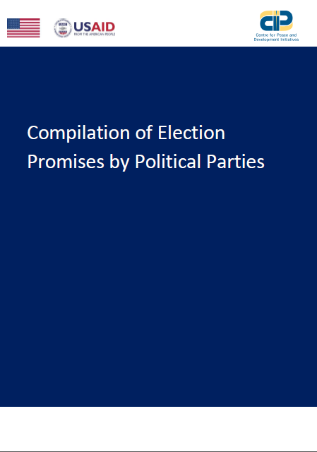Compilation of Election Promises by Political Parties