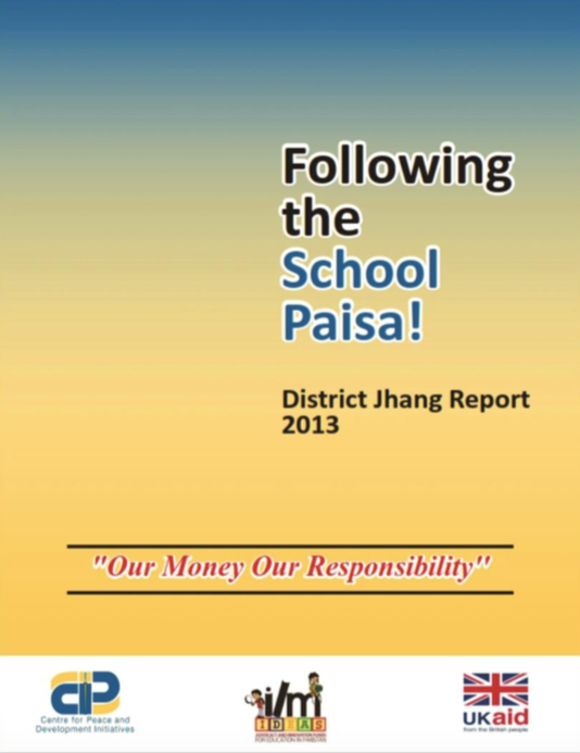 Following the School paisa Jhang report I
