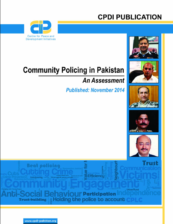 Community Policing in Pakistan(An Assessment)