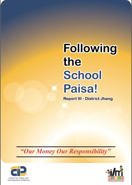 Following School Paisa(Report-III,District Jhang)(2014)