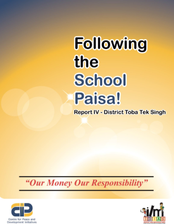 Following the School Paisa Report IV Toba Tek Singh