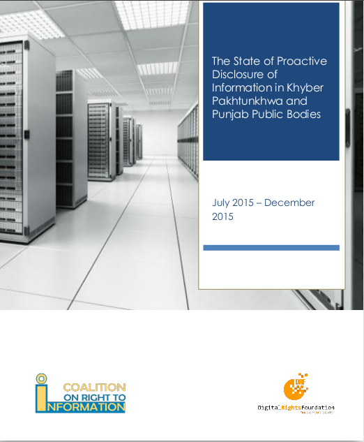CRTI Report-Proactive Disclosure of Information in KPK and Punjab Public Bodies