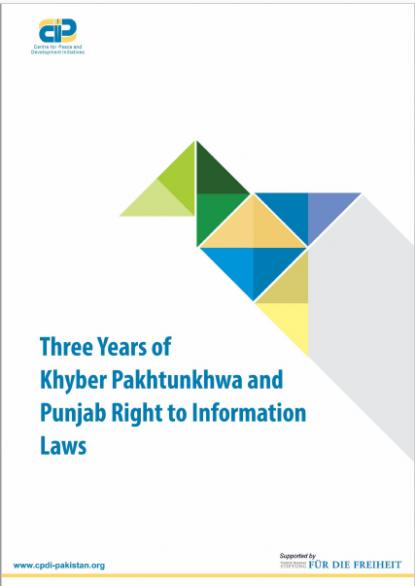Three Years of KP and Punjab RTI Laws