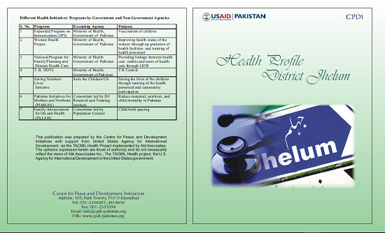 Health Profile District Jhelum