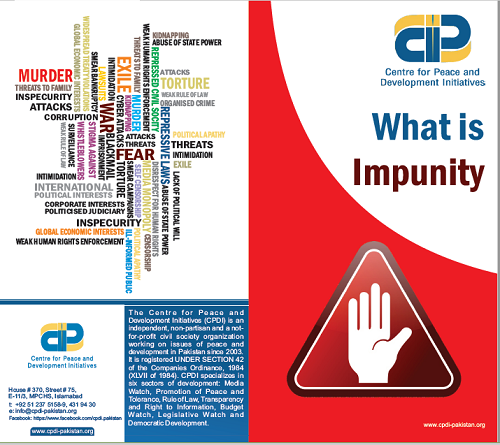 What is Impunity