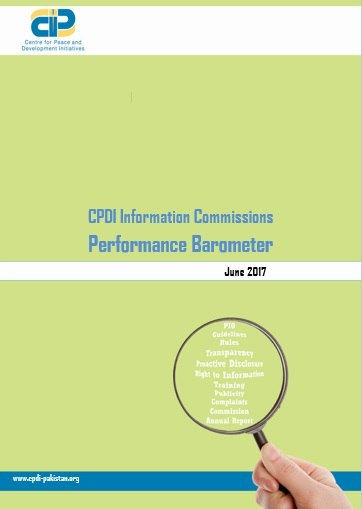 CPDI Information Commissions Performance Barometer