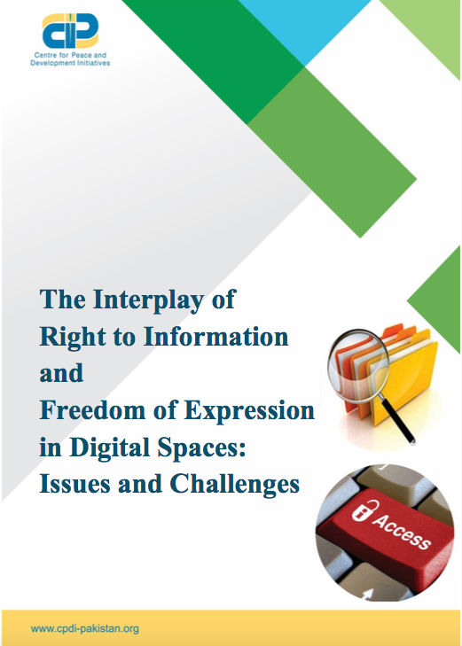 The Interplay of Right to Information and Freedom of Expression in Digital Spaces: Issues and Challenges