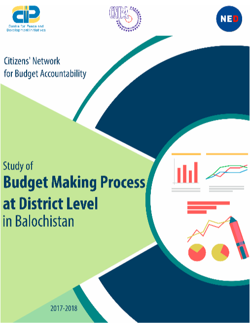 The Study of Budget Making Process at District Level in Balochistan – 2017-18
