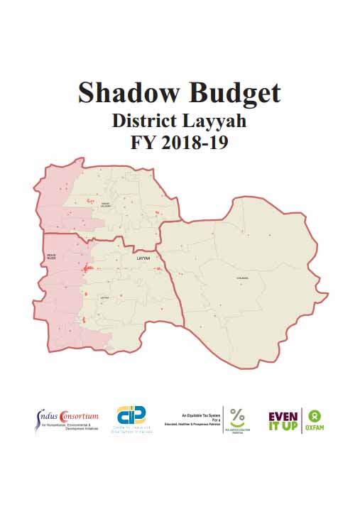Shadow Budget District Layyah - FY 2018-19