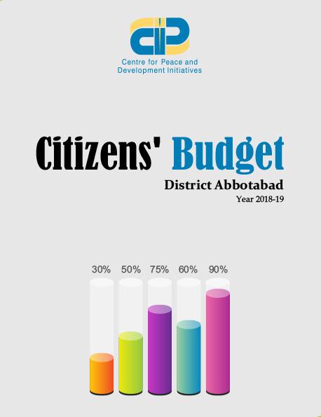 Citizens' Budget Abbotabad 2018-19