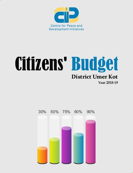 Citizens' Budget Umer Kot 2018-19
