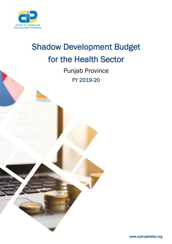 Shadow Development Budget Punjab Health 2019-20