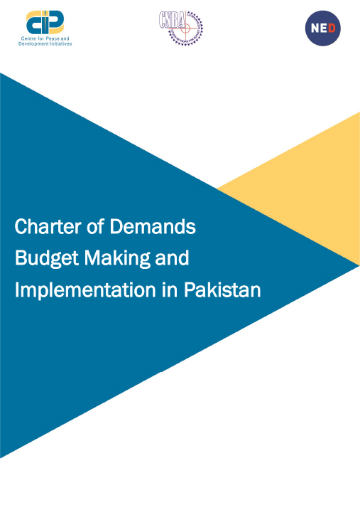 Charter of Demands on Budget in Pakistan