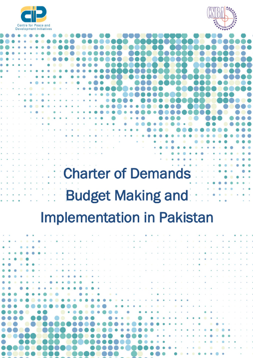 Charter of Demand on Budget in Pakistan