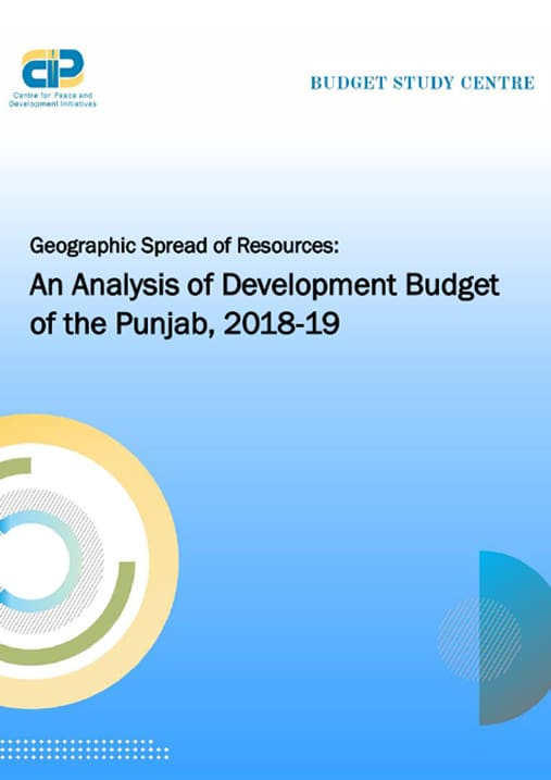 Geographic spread of Punjab Budget
