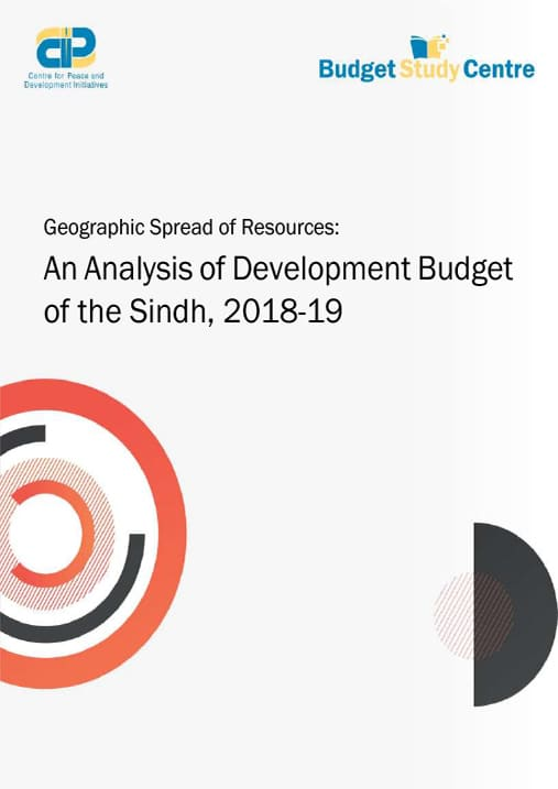 An Analysis of Development Budget of the Sindh, 2018-19