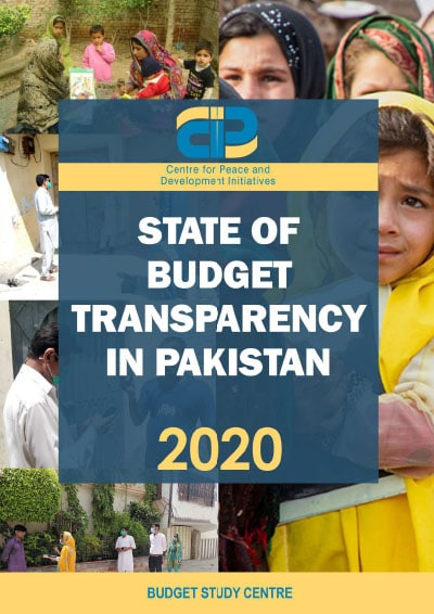 State of Budget Transparency in Pakistan 2020